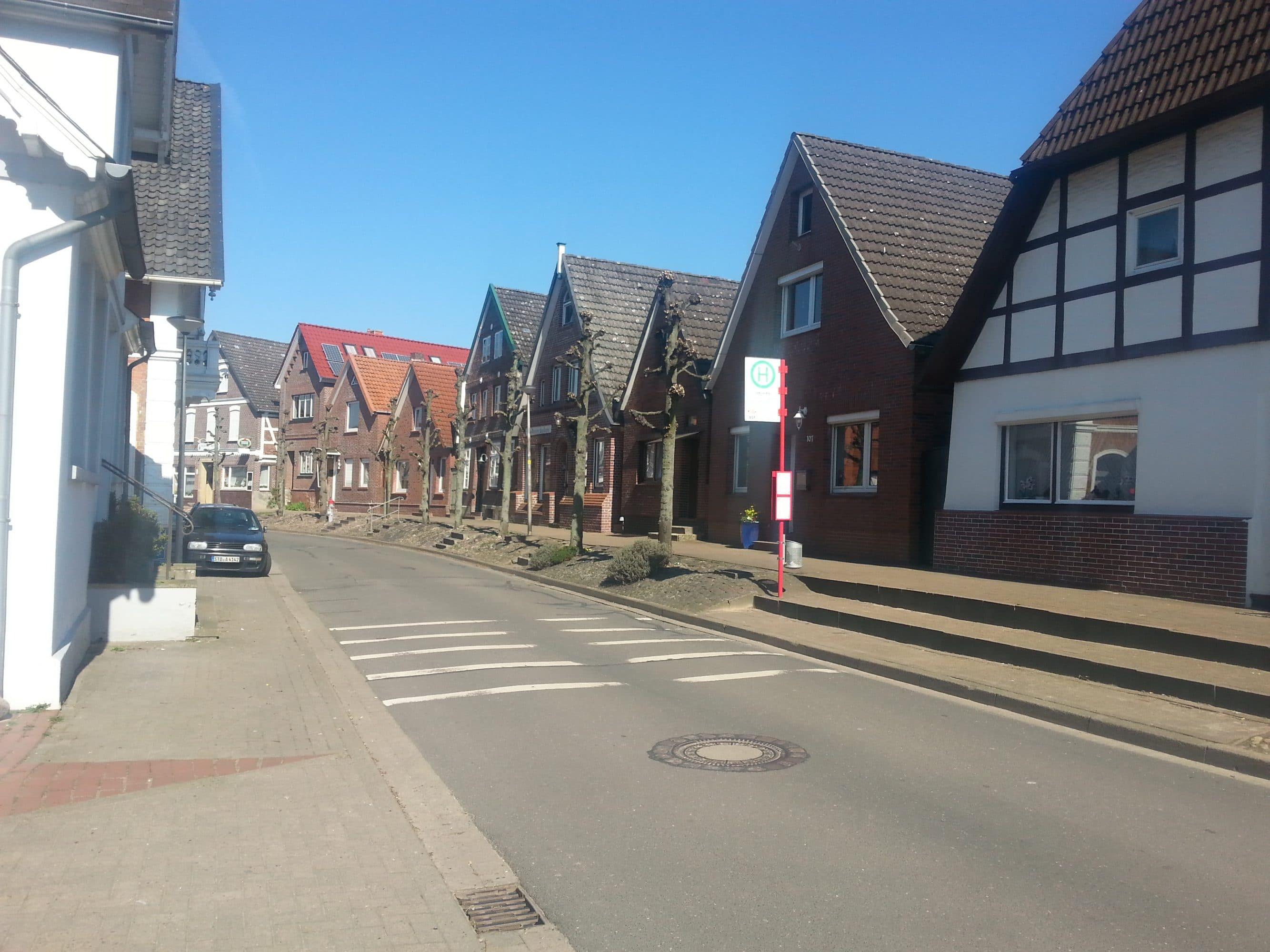 Der idyllische Ortskern von Estebrügge. - Wilkens-Immobilien © 2017