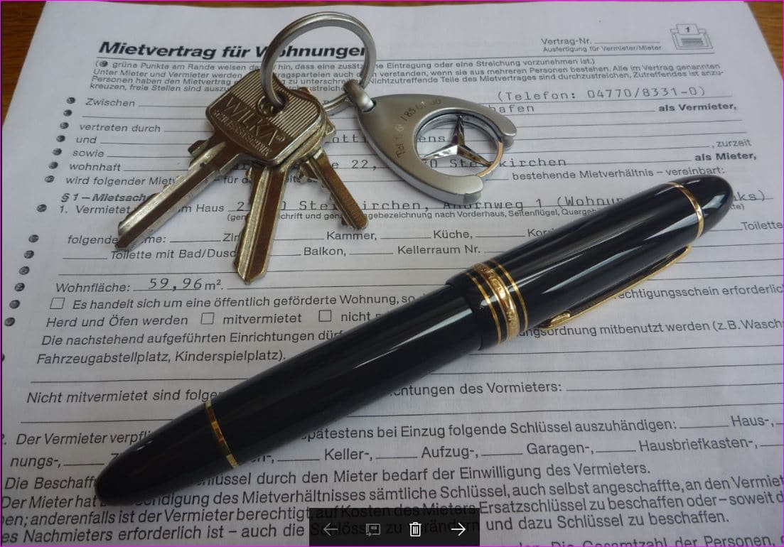 Wenn Sie uns mit der Vermietung Ihrer Immobilie beauftragen, formulieren wir den Entwurf des Mietvertrages und übernehmen die Übergabe der Immobilie.
